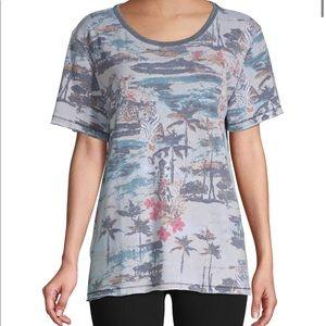 Free People Tourist Printed T-shirt